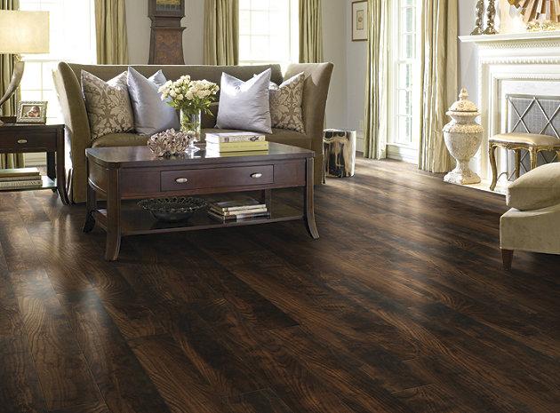 dark laminate wood flooring dark hand scraped laminate flooring SYHUYOE