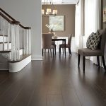 How to decorate dark laminate wood flooring.