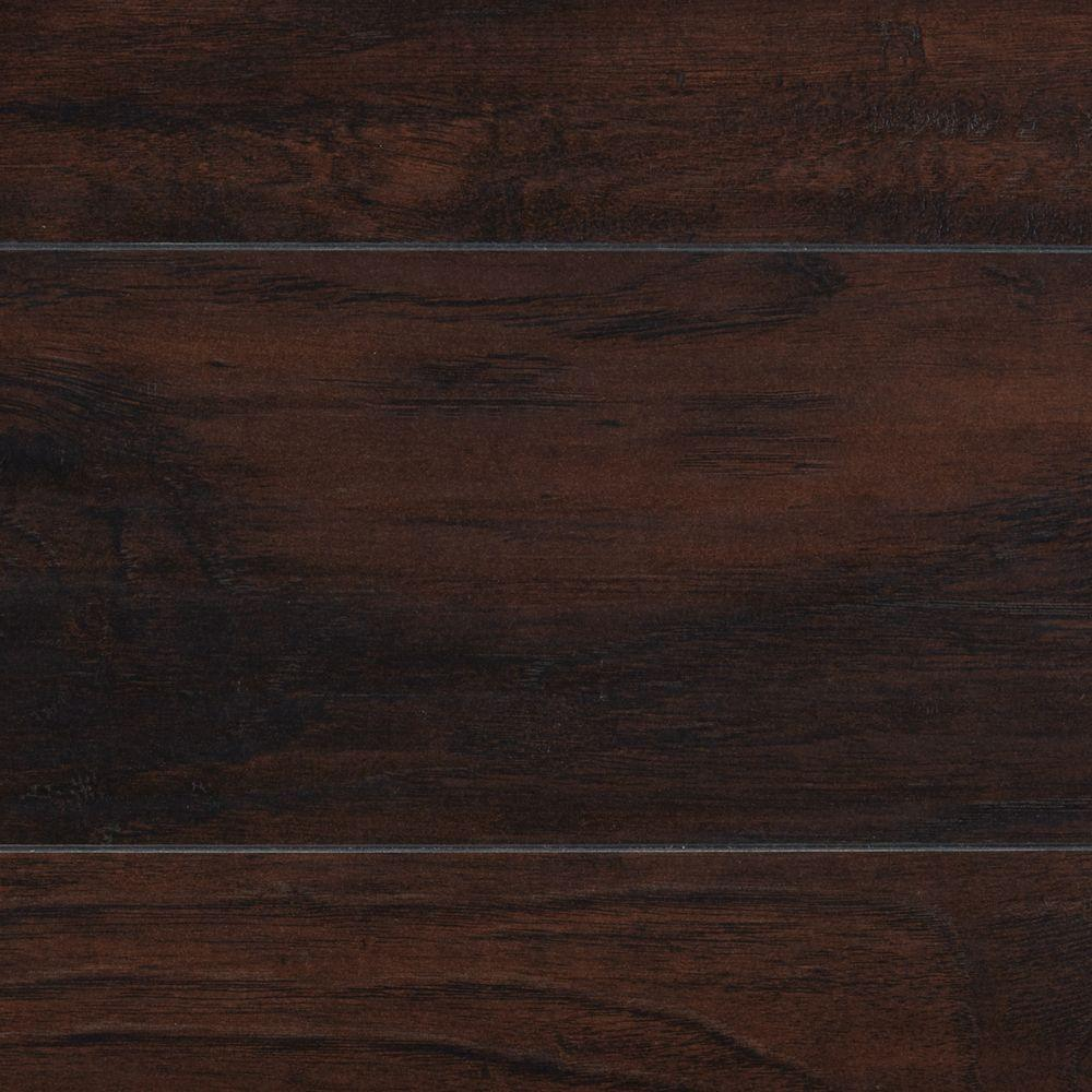 dark laminate wood flooring home decorators collection stanhope hickory 8 mm thick x 7-2/3 in. ABCWLFR