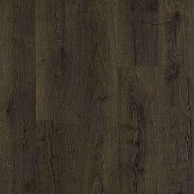 dark wood laminate flooring outlast+ vintage tobacco oak 10 mm thick x 7-1/2 in. wide CQSCTDU