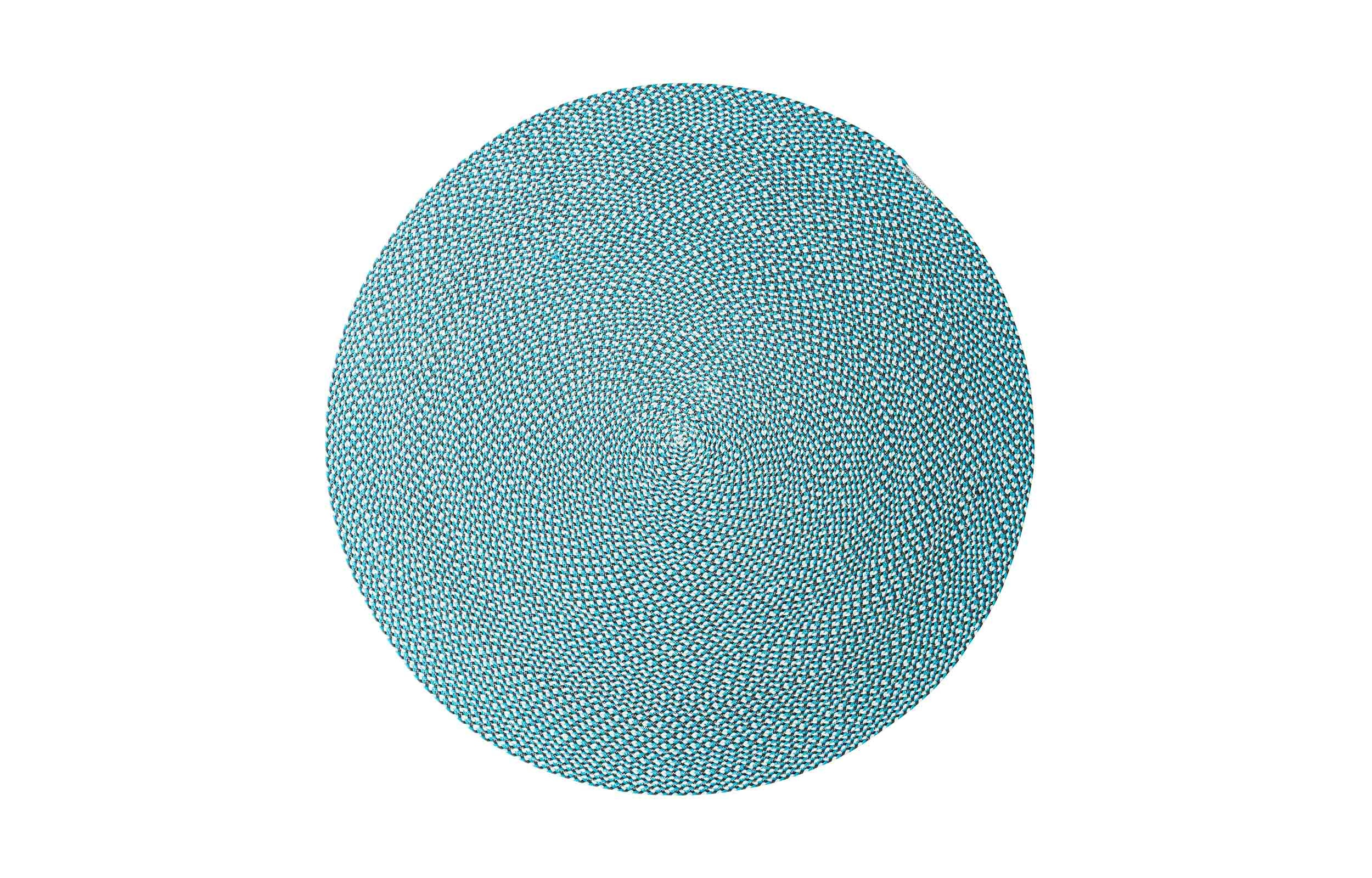 defined outdoor circular rug by cane-line ... HJYXARR