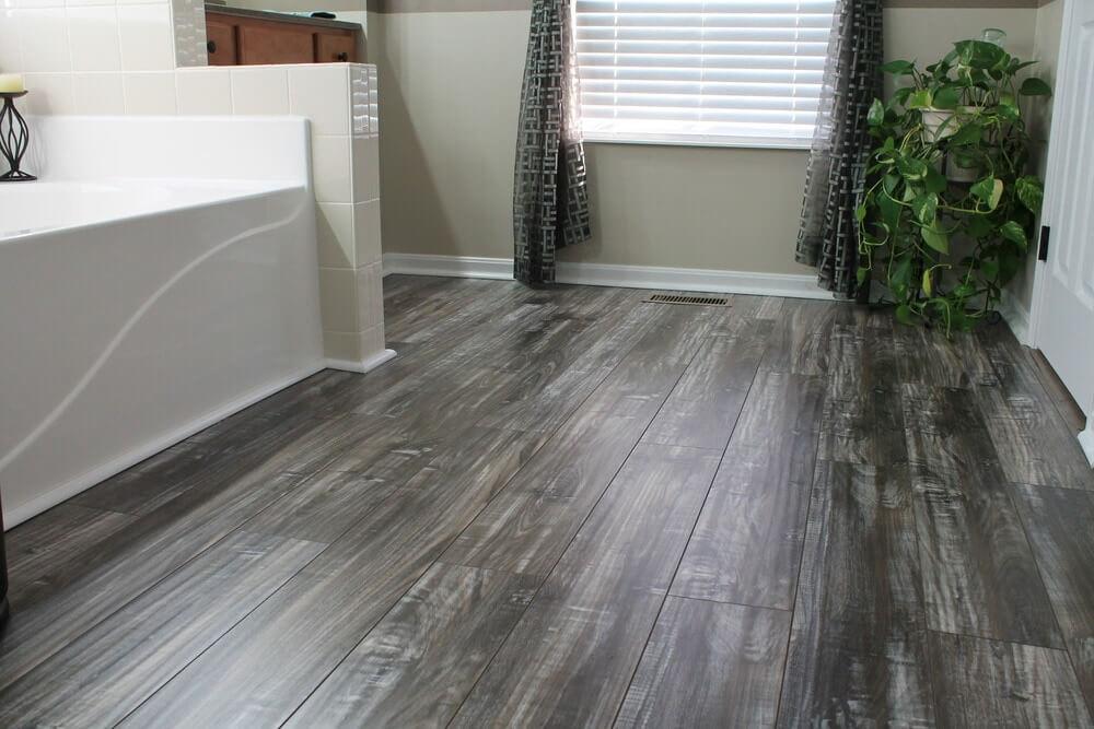 distressed hardwood flooring grey laminate floor BSLESZJ