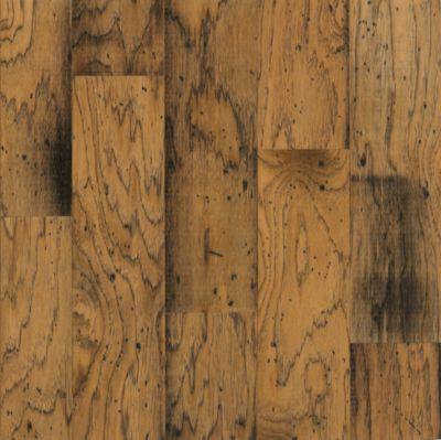 distressed wood flooring hickory engineered hardwood - antique natural GBXYJMK