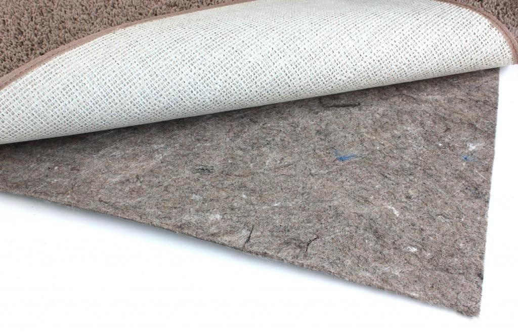 duo lock felt and rubber non slip area rug pad XYYNWCX