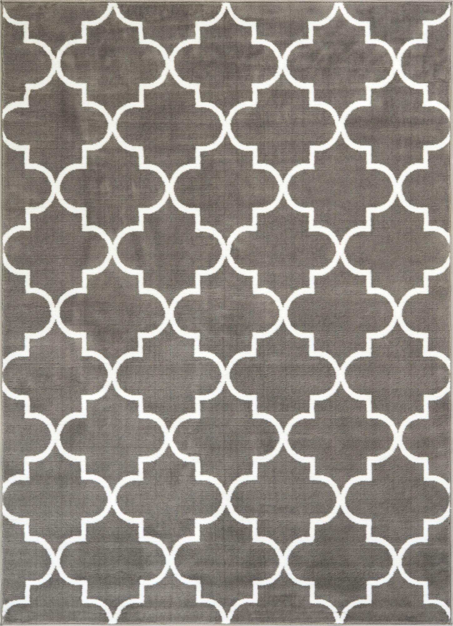elleu0027s lattice grey modern rug GSNLXMR