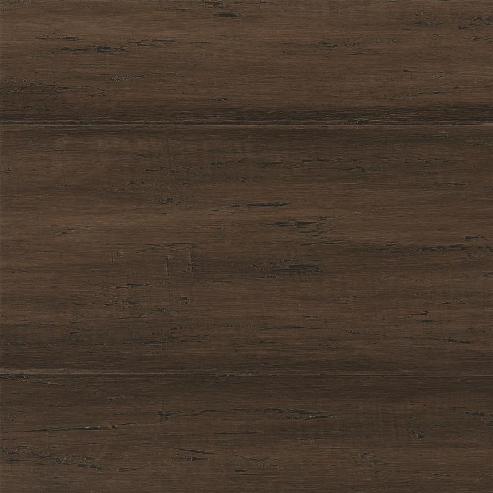 engineered bamboo flooring home decorators collection hand scraped strand woven mushroom 3/8 in. t x 5 ABNFLWZ