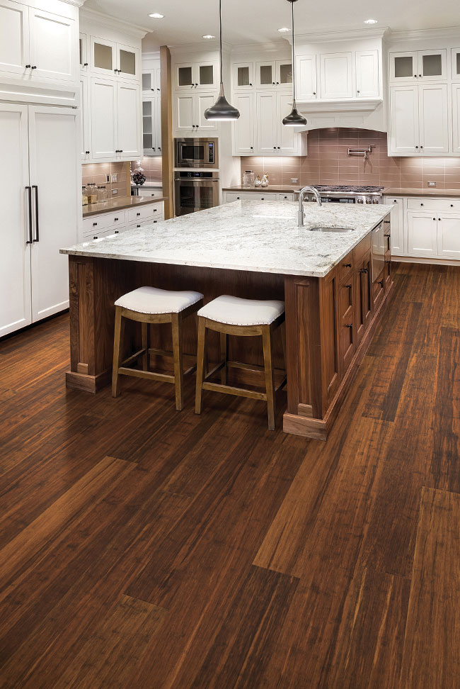 engineered bamboo flooring synergy® wide plank roomscene VOXRMHG