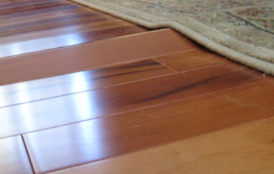 Floating laminate floor buckled laminate (photo credit: from oysters to pearls) TIILLGZ