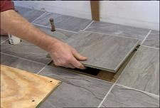 Floating laminate floor stone style laminate QVPIJAV