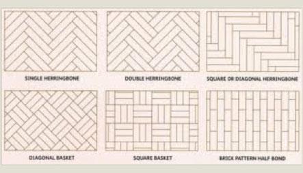 Floor Installation Patterns Diffe Parquet Flooring Djrytca