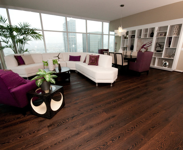 flooring materials for living room wide-plank wood floors in living rooms contemporary-living-room RIIDTUX