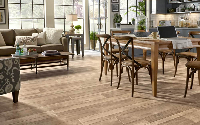 Lamínate flooring that looks like tile​