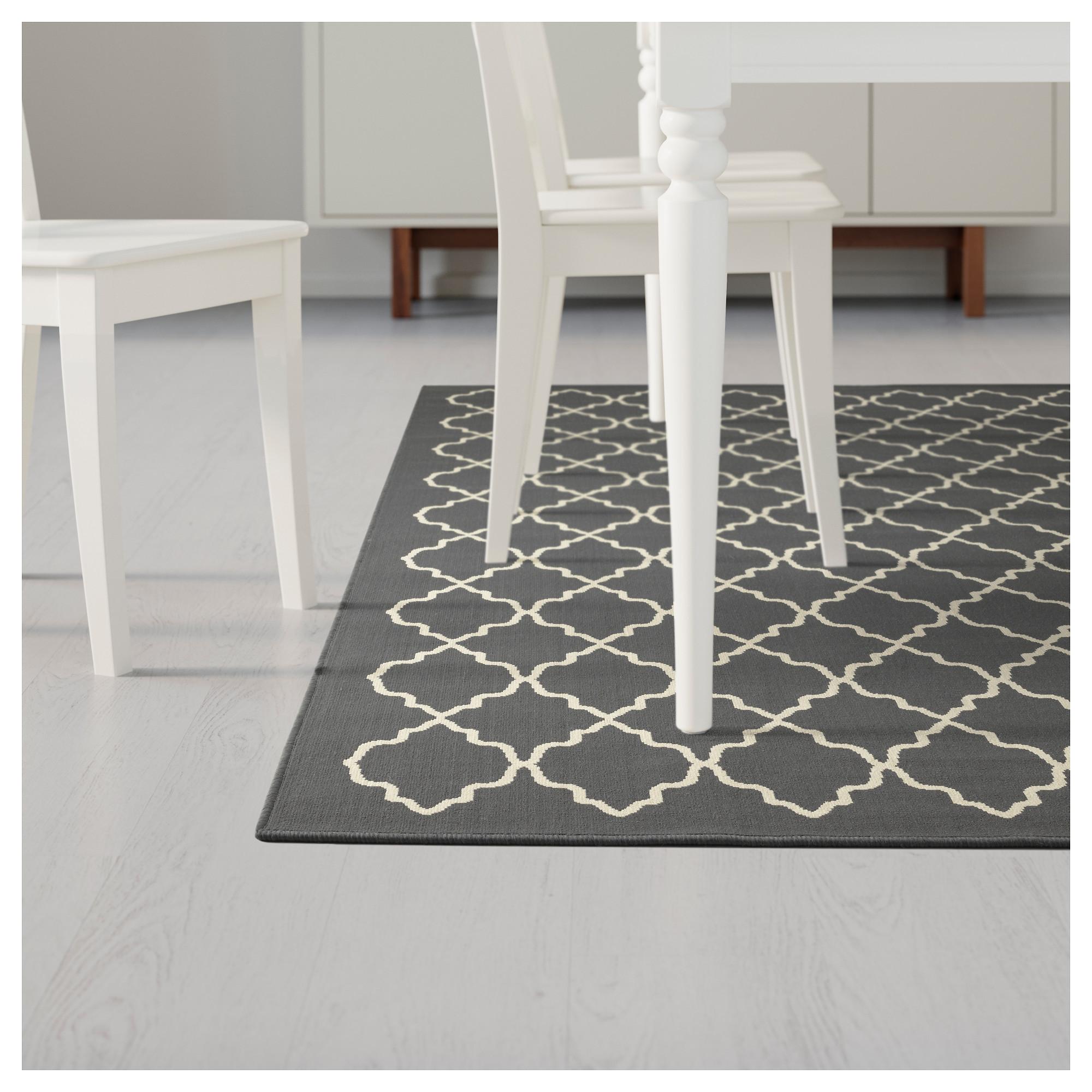 hampen rug, high pile 5 u0027 3 dining room dining room rugs ikea QZNUCIN