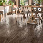 Hand-scraped hardwood flooring for a beautiful house: