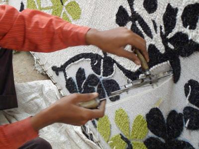 hand tufted rugs hand-tufting BKOYSTL
