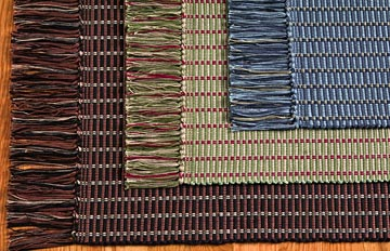 hand woven rugs handwoven cotton ribbed rugs CGDGZOY