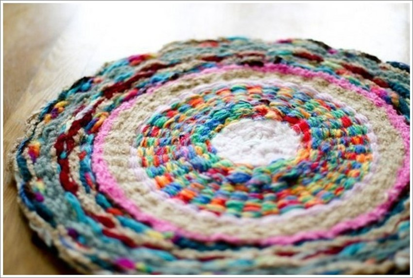 handmade rug braided handmade rugs - diy is fun HRCEJKS