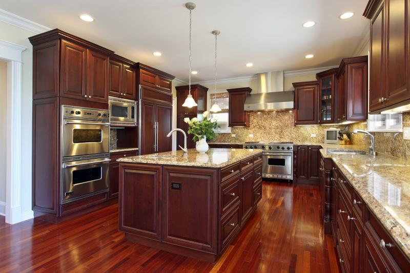 hardwood floors in kitchen kitchen wood flooring MOUGMLA