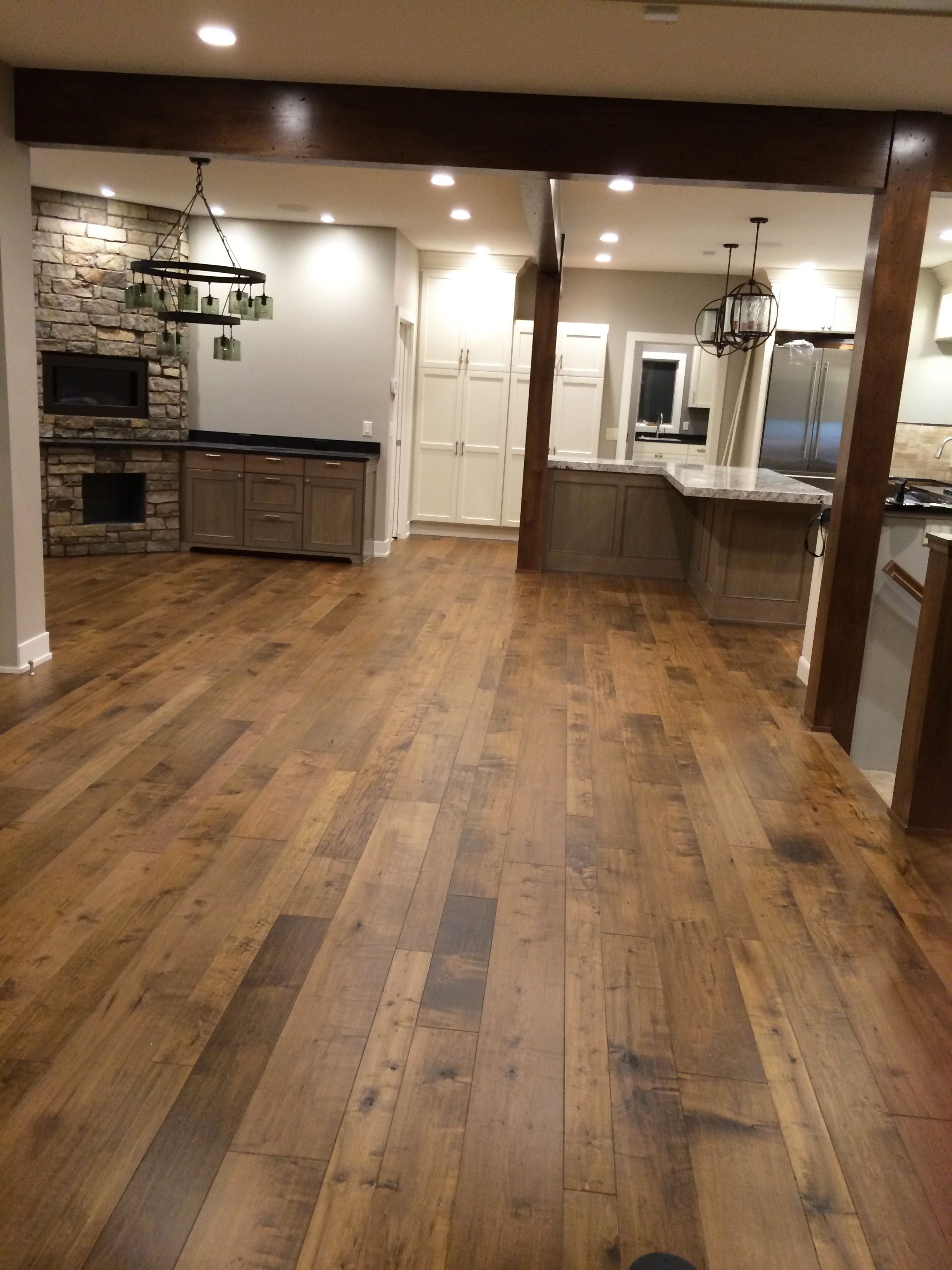 Procedure for sanding hardwood floors