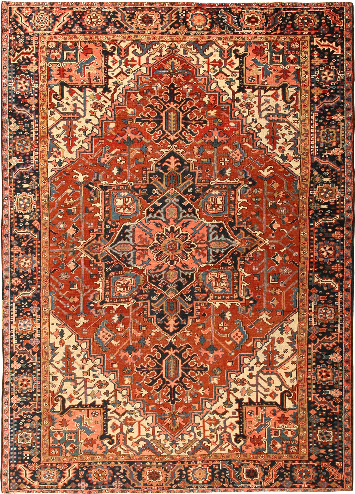 heriz rugs antique persian serapi heriz rug 42916 by nazmiyal OEPYSLK