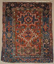 heriz rugs small antique persian heriz karaja rug - 3x4 PYSRUGZ