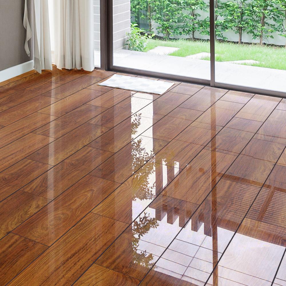 high gloss laminate flooring falquon flooring high gloss 4v plateau merbau laminate high gloss floor  tiles JKHROBE