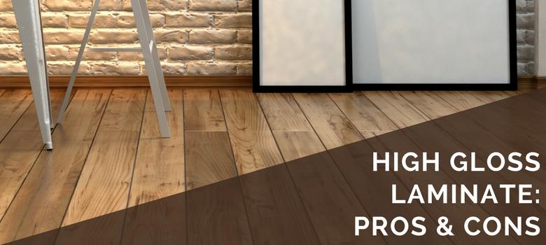 high gloss laminate flooring high gloss laminate pros and cons BNEVPNI