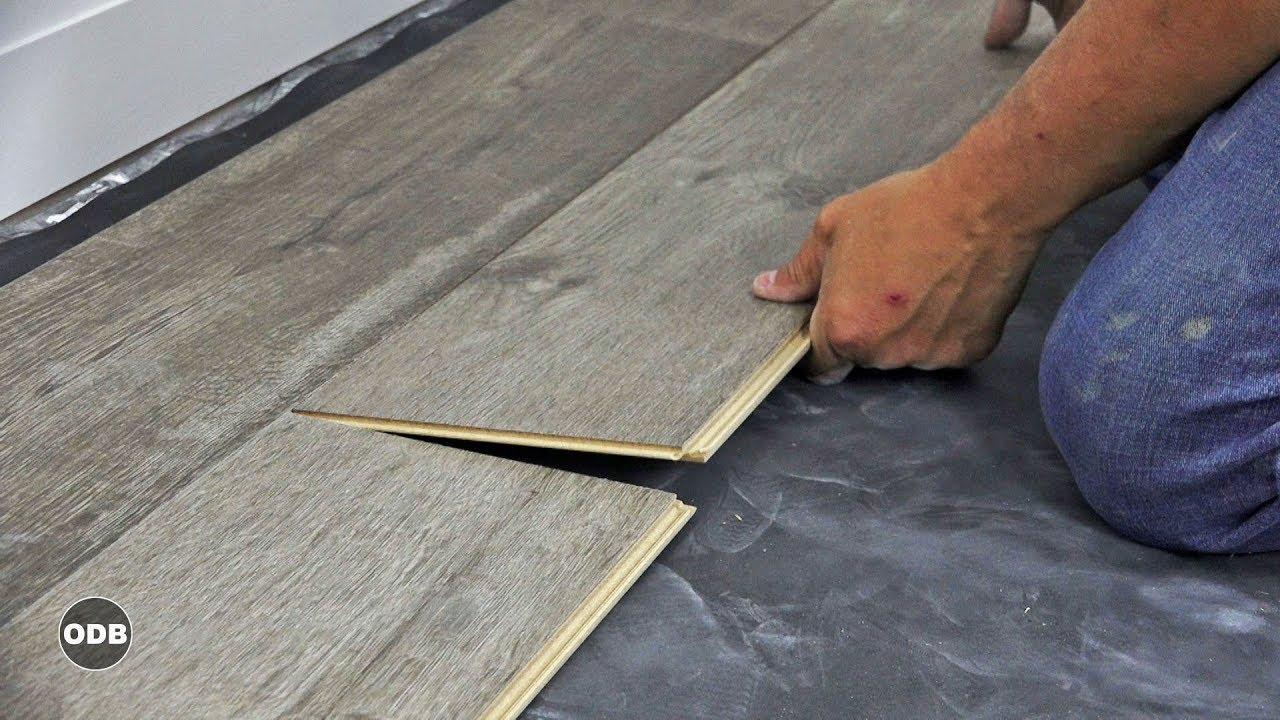how to install laminate plank flooring YGDMURV