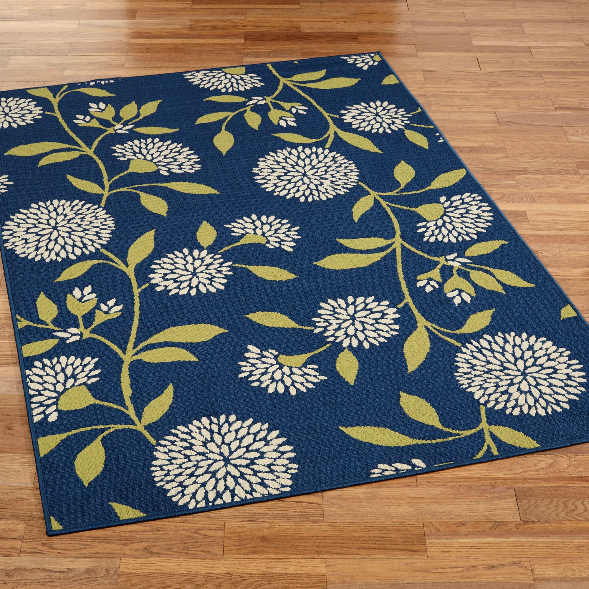 indoor rugs dandelion rectangle rug navy TLMFIHU