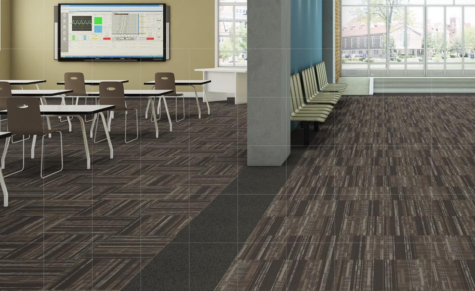 industrial carpet classroom DSGKJVA