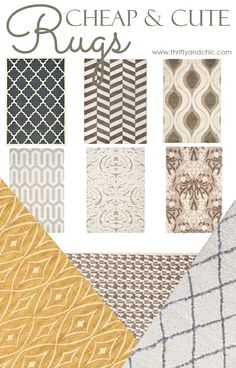inexpensive rugs 15 cheap and cute area rugs GIBVEEY