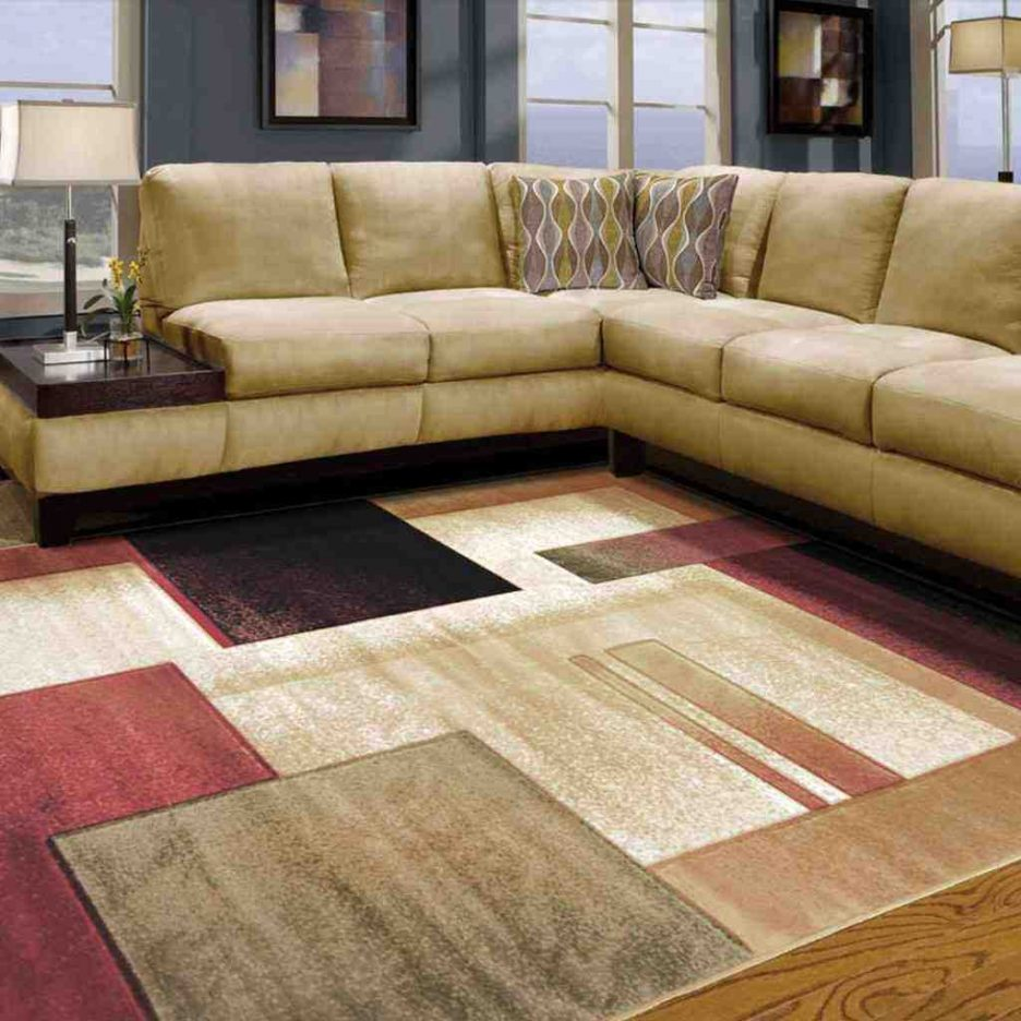Easy to adorn the place with inexpensive rugs