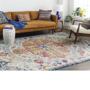 jahiem saffron/blue area rug BFPGFGF