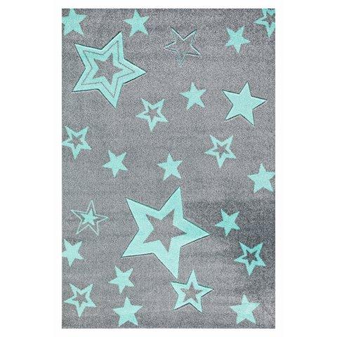 kids rug happy rugs starlight gray/mint 130x190cm ... AFLJUEJ