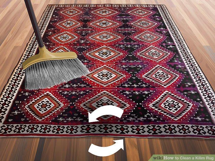kilims rugs image titled clean a kilim rug step 1 TLXJPML