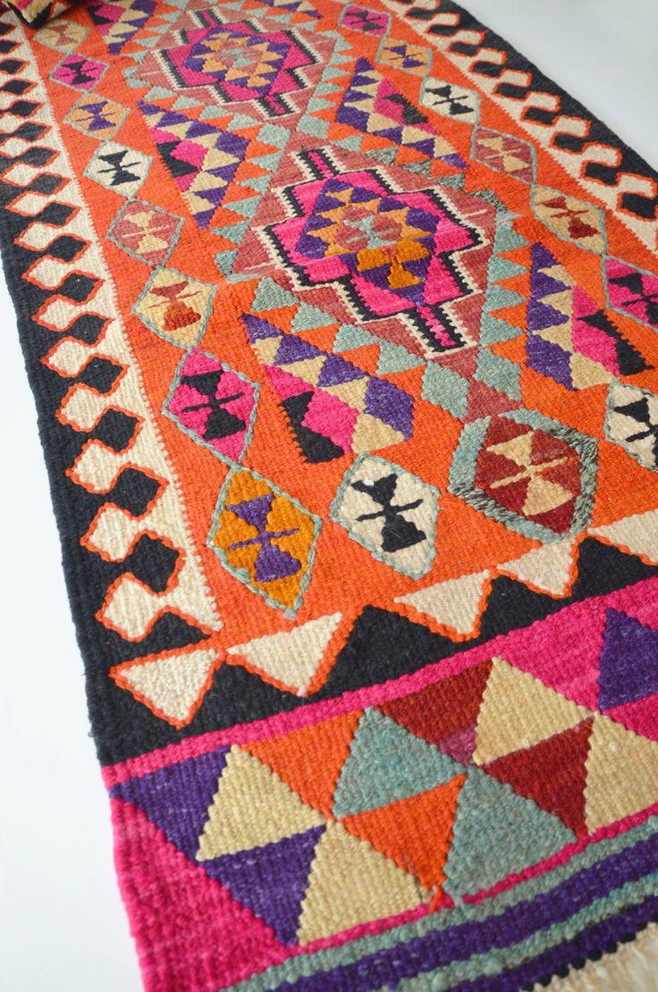 kilims rugs no sale / vintage turkish kilim rug carpet handwoven by sukan, $1,960.00 AFNDQYT