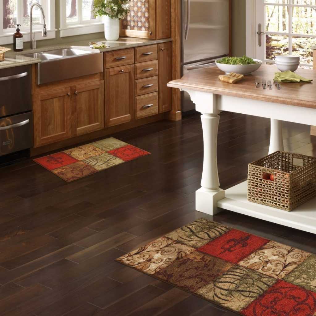 Best material for kitchen throw rugs