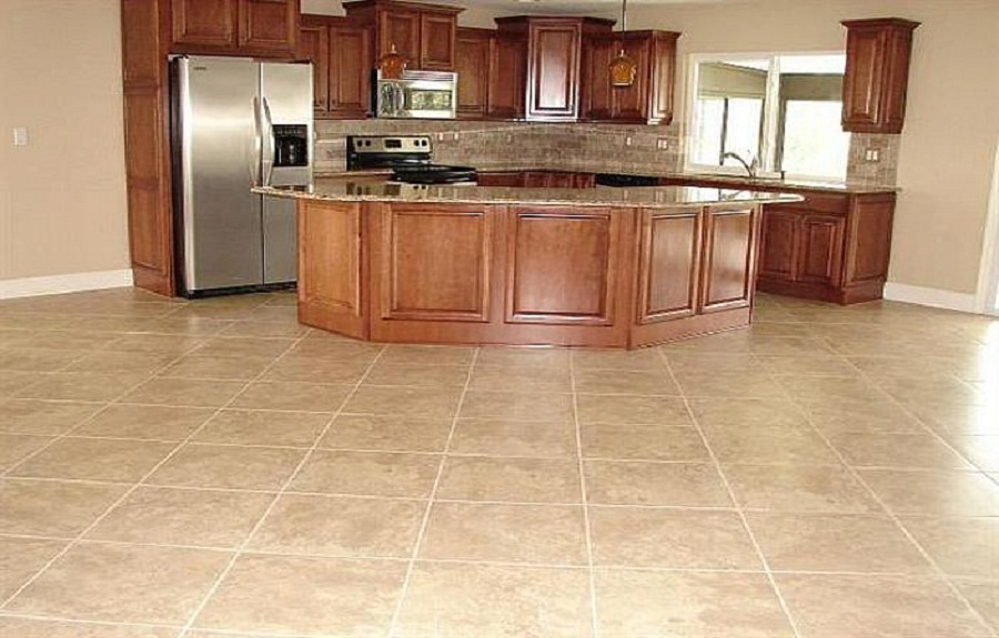 kitchen tile flooring best kitchen floor tiles design PITHGWE