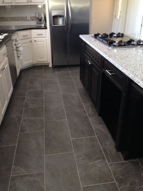 kitchen tile flooring slate look kitchen tile floor EZKZYBO