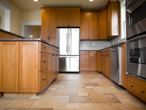 A review of kitchen tile flooring ground surface