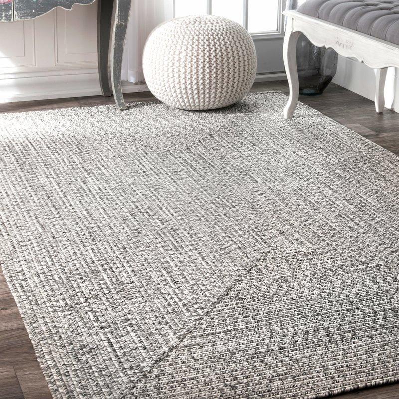 kulpmont gray indoor/outdoor area rug GOYHILI