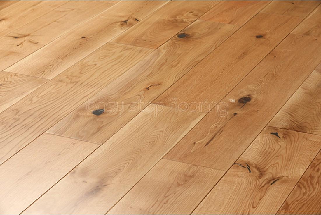 lacquered finish solid oak flooring - wood flooring @easystepflooring MMIELZV
