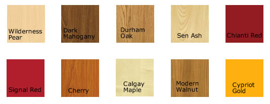 laminate colours laminate office pod colour chart AWLPSZI