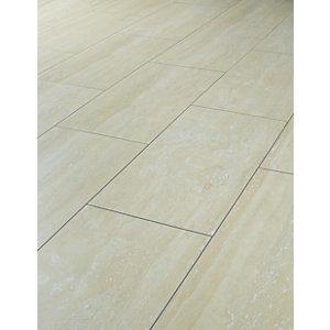 laminate floor tiles wickes travertine tile effect laminate flooring - 2.5m2 pack BQZFFTT