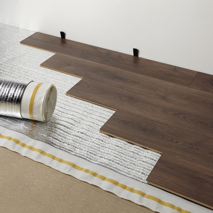 laminate floor underlay 4 in 1 foil backed underlay HTVSSHX