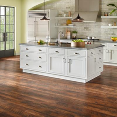 laminate flooring in kitchen underlayment attached YLUPCYK