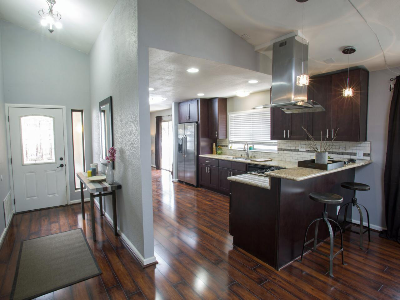 laminate flooring kitchen cabinets the pros and cons of laminate flooring AWAAHFV