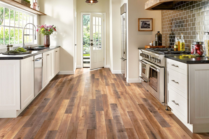 laminate floors wood look laminate in the kitchen - l6625 global reclaim laminate - worldy XPSMHYT