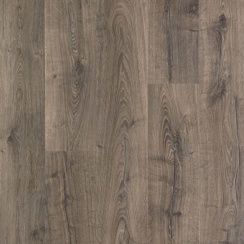 laminate plank flooring pergo outlast+ vintage pewter oak 10 mm thick x 7-1/2 in. AODDHMO