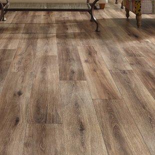 laminate plank flooring restoration wide plank 8u0027u0027 x 51u0027u0027 x 12mm laminate flooring in brushed coffee GFPGPGH